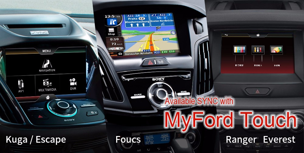 for ford edge car gps with sync 2 dvd gps buy multimedia video interface for ford kuga product. Black Bedroom Furniture Sets. Home Design Ideas