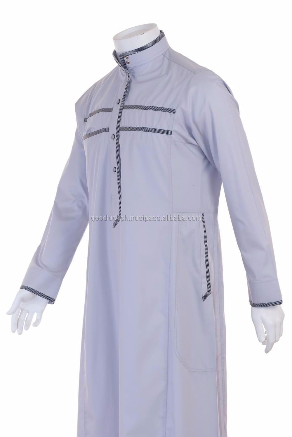 Wholesale Thobe -designer Arabic Thobe/designer Men's Arabic Thobe ...