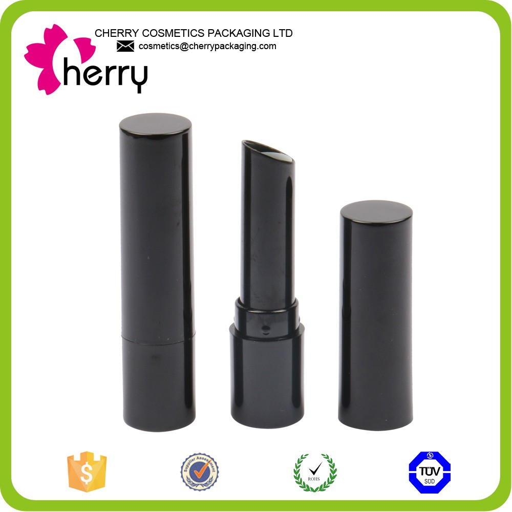 Plastic cosmetic empty transparent lipstick tube for wholesale