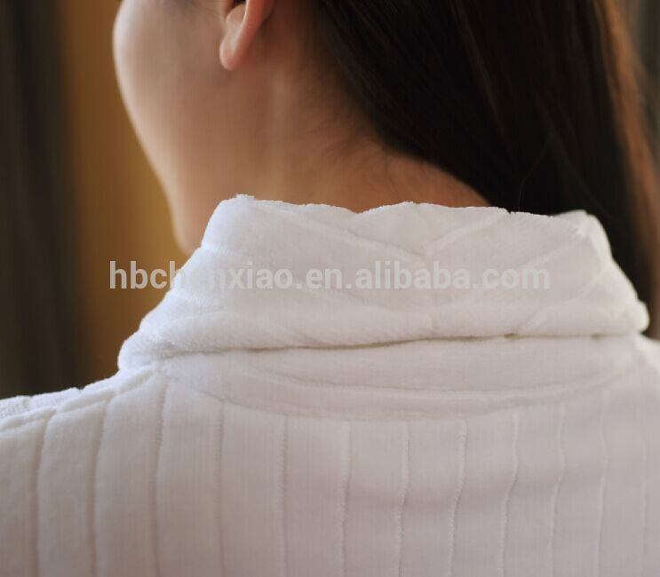 hot sell cheap terry hotel and spa bathrobe for women