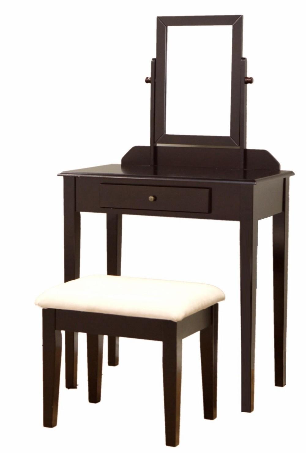 Simple Bedroom Dressing Table bedroom furniture mirrored makeup desk wooden simple dressing