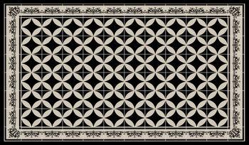 Pvc Vinyle Tapis 60x80 Cm Geometrique Tapis Tapis Pvc Plancher En
