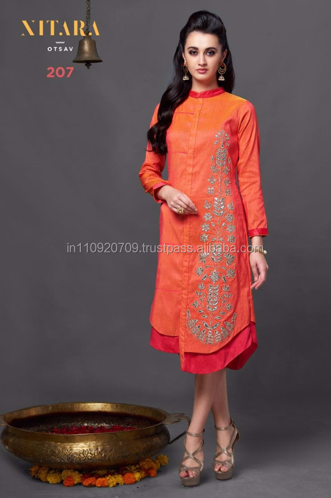 95182b2390f Buy Art Silk Kurti Online - Buy Party Wear Kurti