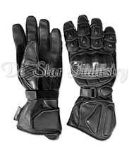 Genuine Cow Leather Motorbike Gloves for Racing
