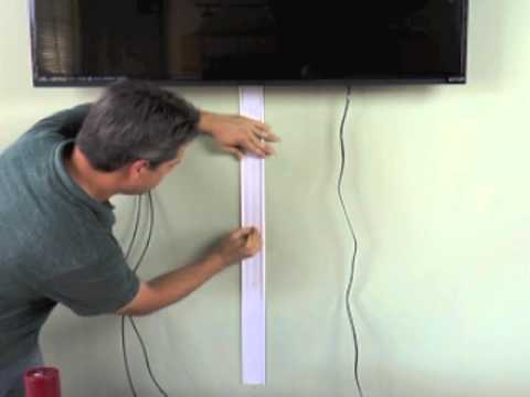 titan3 a31kw how to install flat screen tv cord cover kit