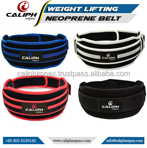 Neoprene Weight Lifting Belt Back Support Gym Training fitness Belts