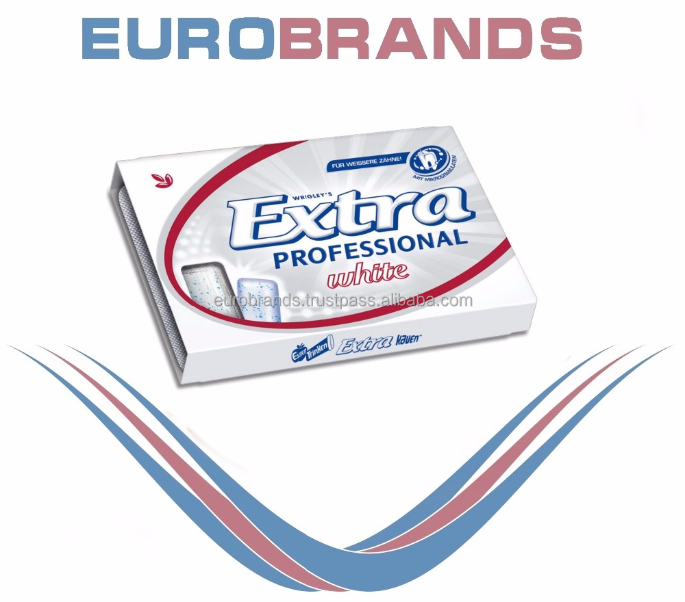 Wrigley Extra Professional White NEW, 10 Dragees