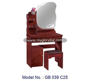 Wooden Mdf Dressing Table With Mirror Designs Furnituresimple