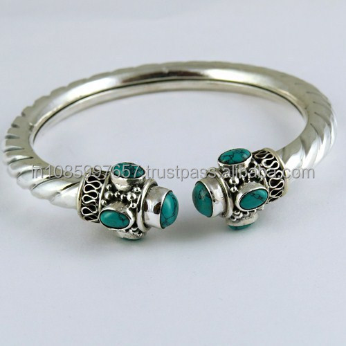 e9528c4c468 Nice Filigree Oxidized Silver Kada 925 Sterling Silver Bangle, Exporter and  Wholesaler, Indian Silver