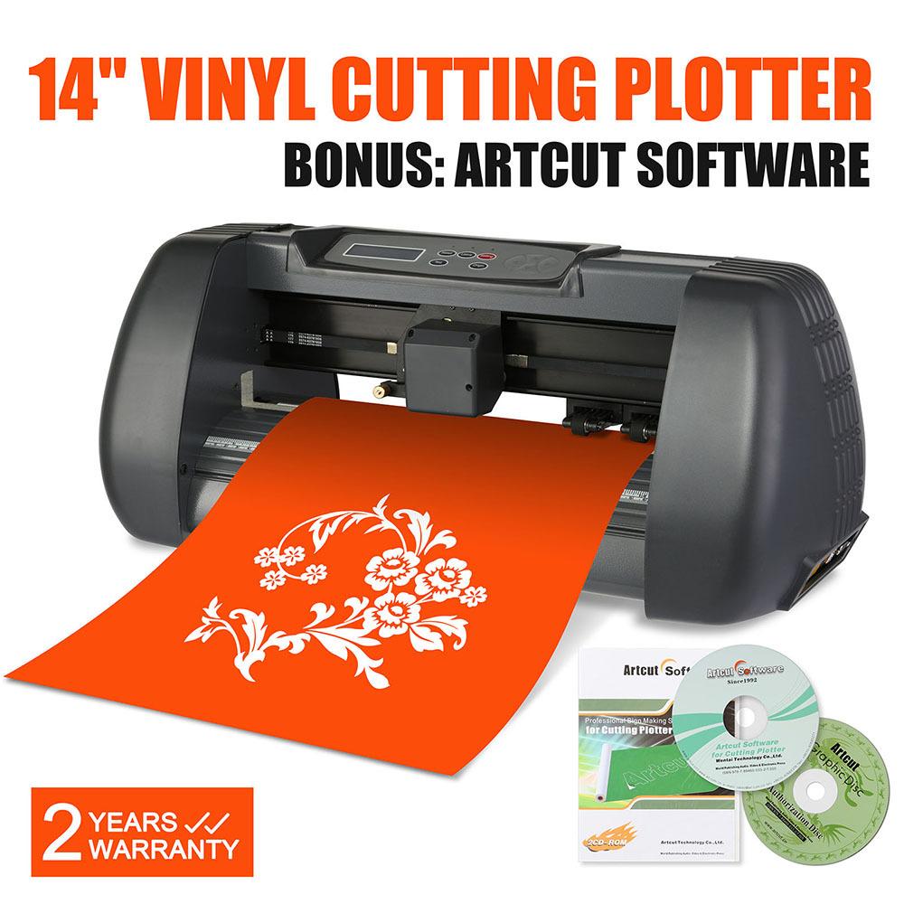 vevor cheap table 375mm vinyl cutter sticker cutting plotter machine