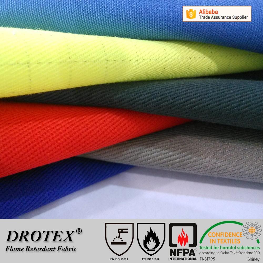 243435bdd3a9 Pyrovatex CP THPC 320gsm 2 1 Twill FR finishing flame retardant fabric for  workwear