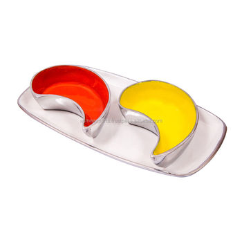 Aluminium Bowl Set | Enamel Tray with Bowls
