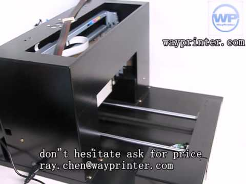 USB Flash Card Flatbed Printer Direct On USB ID Card