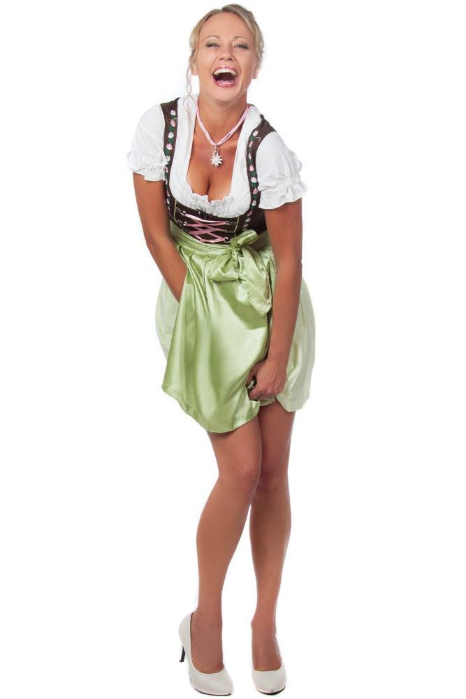 Mini dirndl dirndl tedesco abbigliamento femminile for Vestito tradizionale giapponese femminile