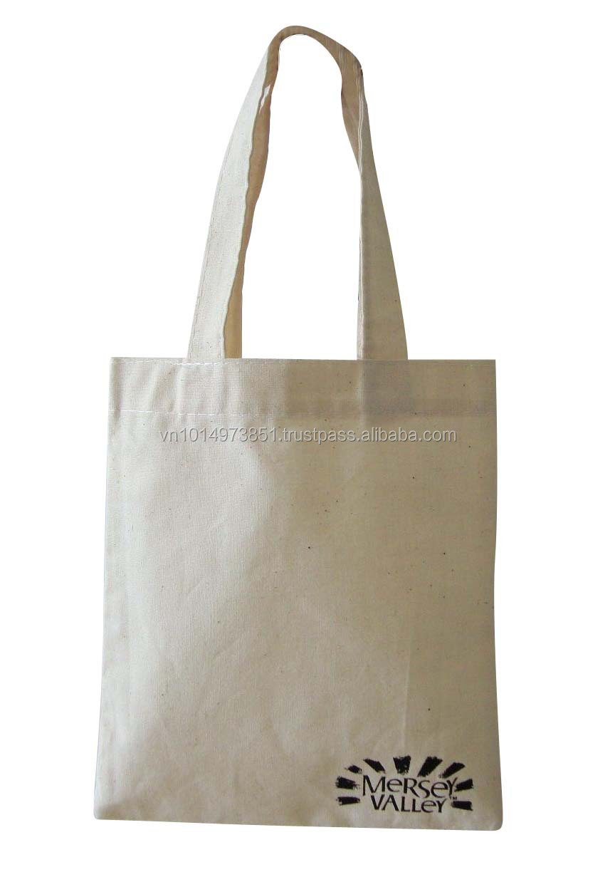 100% natural and dyed cotton bag from cheap Vietnam supplier