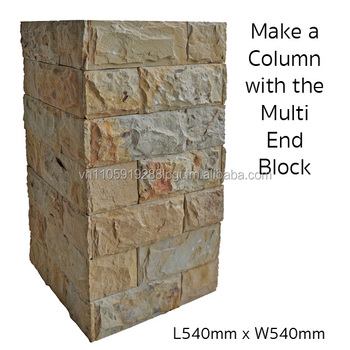 retaining wall concrete block garden wall letterbox stonewall sandstone wall