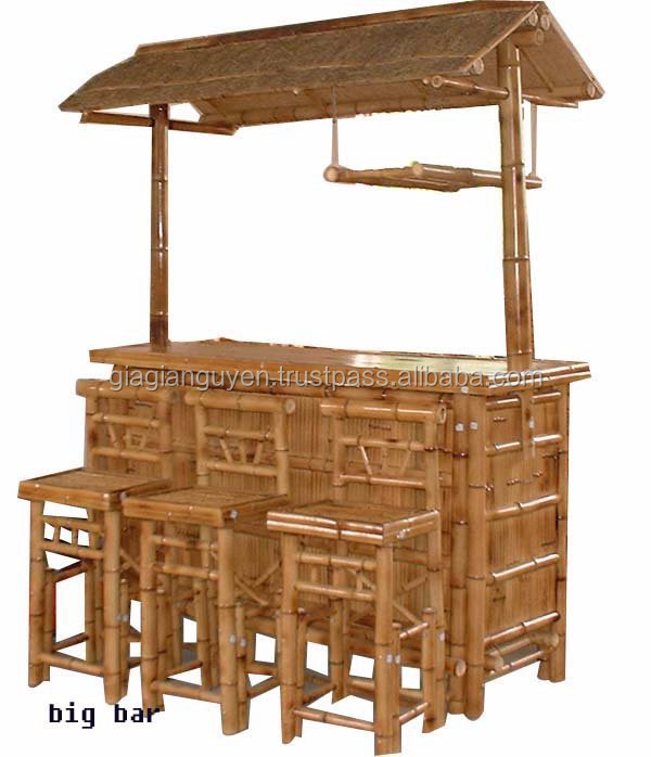 Cheap Bamboo Tiki Bar From Viet Nam( Info@gianguyencraft