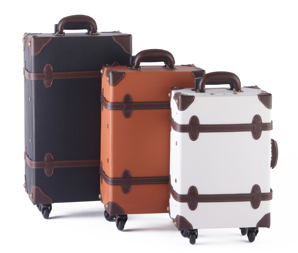 Vintage Luggage With Wheels From Japanese Design Wholesale Trolley ...