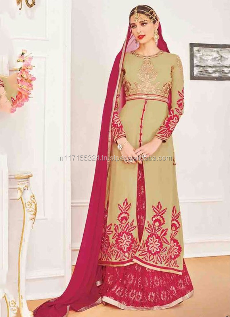 Georgette Anarkali Salwar Kameez - Ladies Anarkali Suits Designs ...