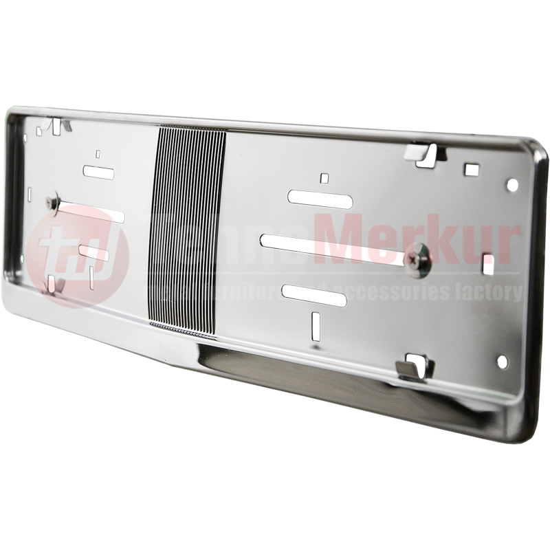 Metal Frame Steel Holder For European Euro License Plate Stainless New BMW