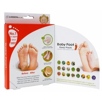 Baby Foot - 17 Types of Natural Extracts - foot care product.