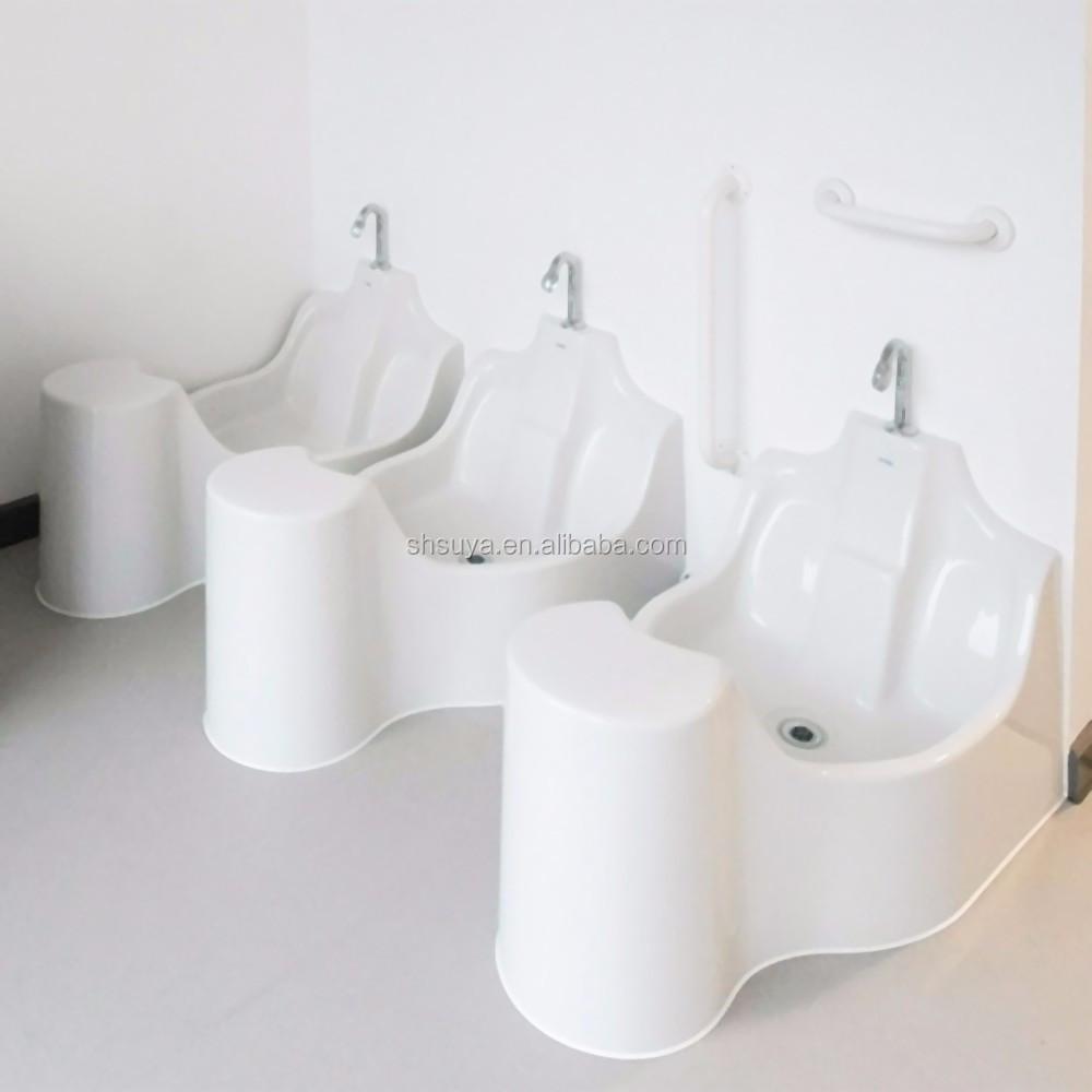 Special Acrylic Wudu Ablution Washing Station For Muslim