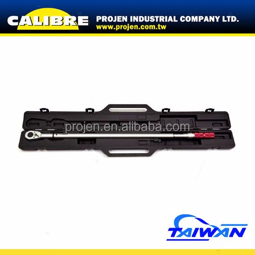 "CALIBRE 1"" Dr. 48 Teeth 200-1000 N-m Dual Way Economic Click Type Torque Wrench"