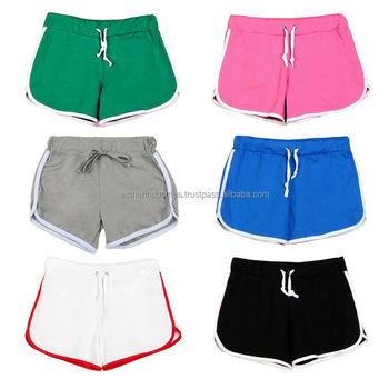 Women's Girls Hot Pants,Running Shorts,Gym Beach Sports Yoga ...