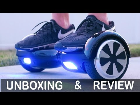 "Self Balancing, 2-Wheel, Smart Electric Scooter, ""Mini-Segway"", ""Hoverboard"" Review and Unboxing"