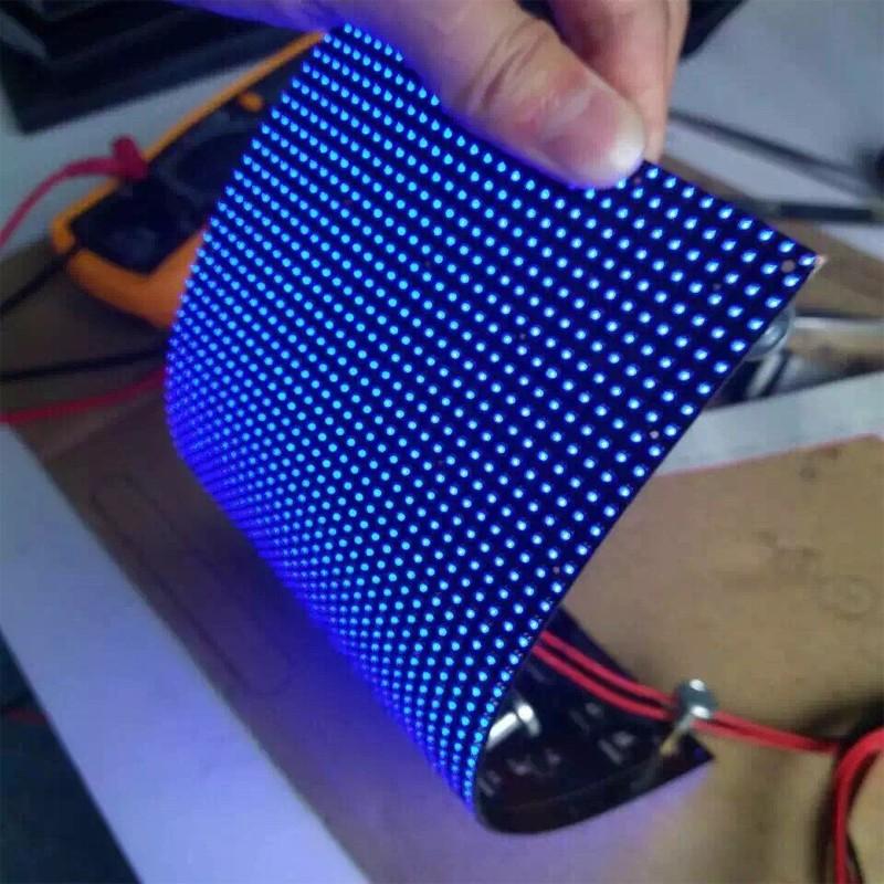 Indoor Wifi Programmable Mini Flexible Led Display Screen