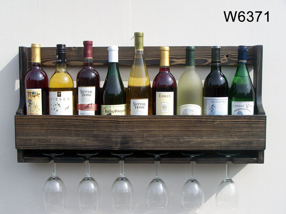 En Bois Unique Porte Bouteille De Vin Moderne En Bois Bouteille De