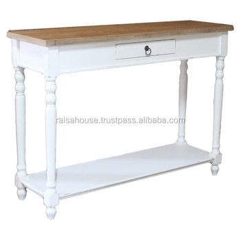 Shabby Chic Indonesia - Console with Drawer Indonesia Shabby Furniture