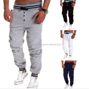 custom cotton fleece slim fitted jogger wholesale sweat pants