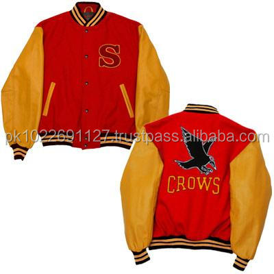 Mans Outdoor Warm Wear All Wool Varsity Jackets/ Custom Letterman Jackets/ Wholesale Custom College Varsity Jackets