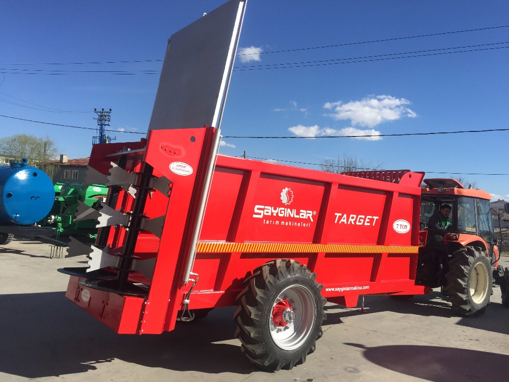 Target Manure Spreader 10 Tons And Carriage Trailer Multifuctional ...