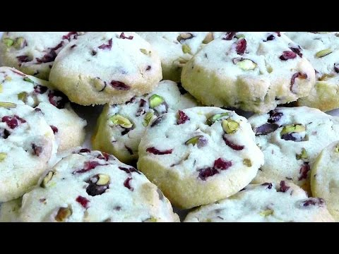Cookies Delicious Simple Cookies Pistachio nuts & Cranberries