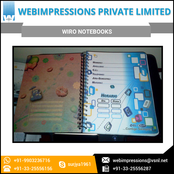 Factory Price Wiro Journal A4 Size Notebook at Reliable Market Rate