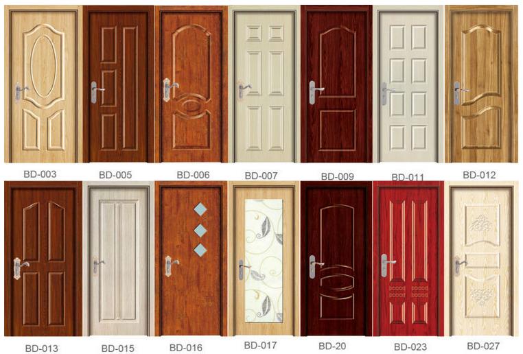 2016 new design teak wood main door models entrance for Main door model