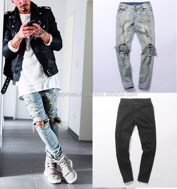 classic style of 2019 how to find new products New Fashion Distressed Denim Jeans Pants - Distressed Designer Men's  Stretch Denim Jeans Slim - Buy New Fashion Distressed Denim Jeans Pants -  ...