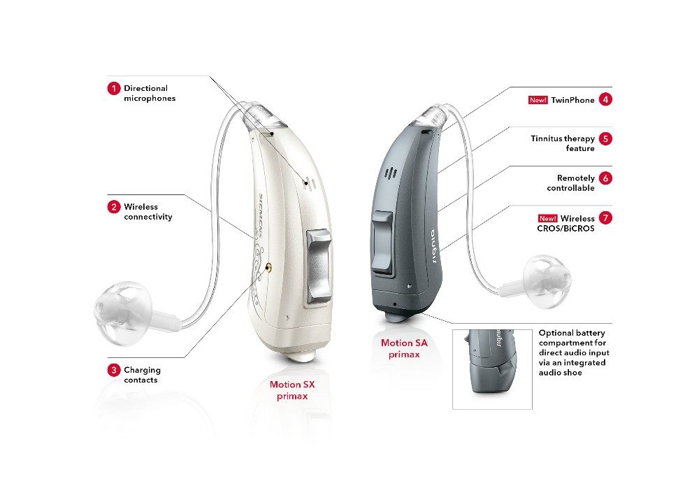 Germany Made Signia Superior Bte Hearing Aids Digital