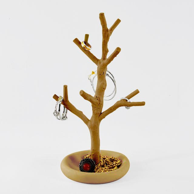 Lovely Appearance Tree Shaped Plastic Ornament Display Rack