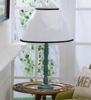 Pair Wooden Candlestick Style Table Lamp Bases