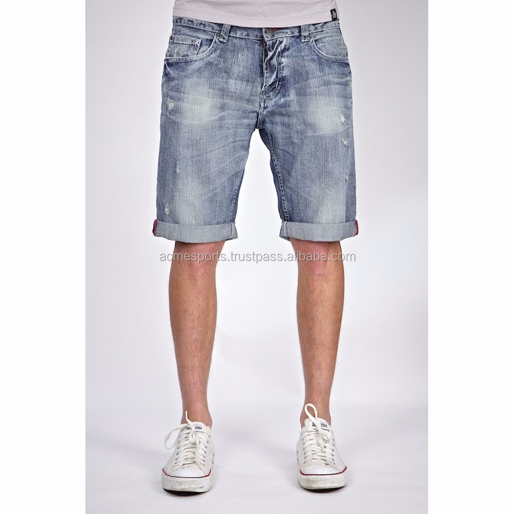 Oem Denim Shorts - High Quality Men Wholesale Cheap Jeans Denim ...