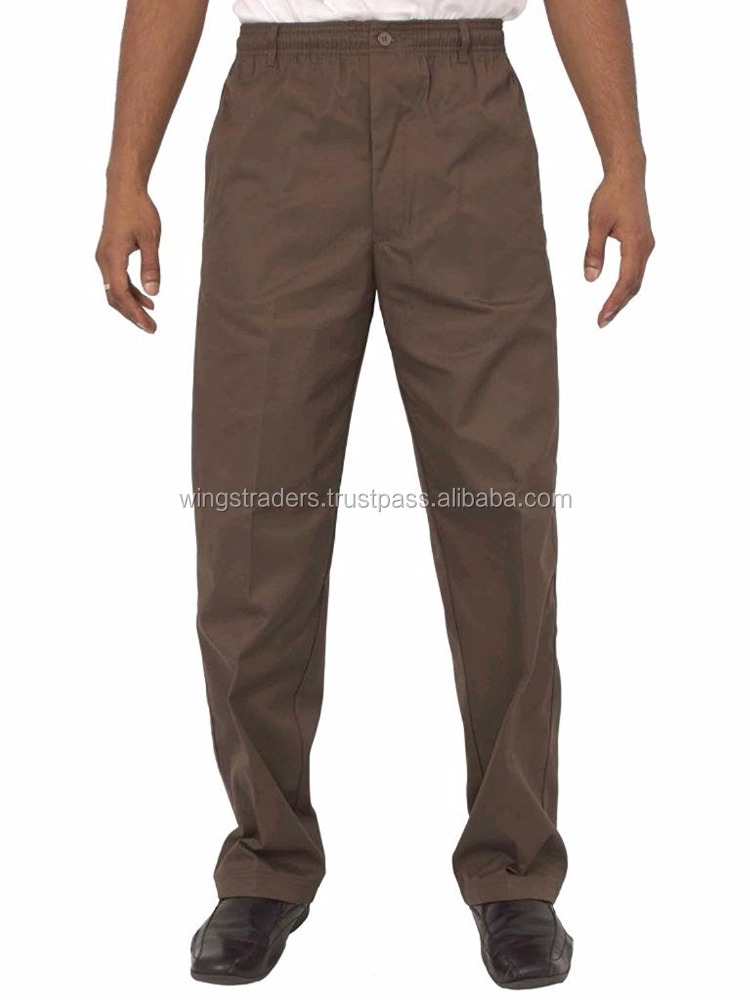 Men Smart Rugby Trousers With Elasticated Waist Best Quality Material