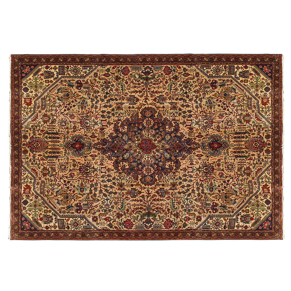 hand knotted Persian rug for living room, wool oriental and traditional rug wholesale floor and indoor use