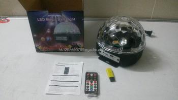 Discobal Met Licht : Led disco ball light met bluetooth afstandsbediening ondersteuning
