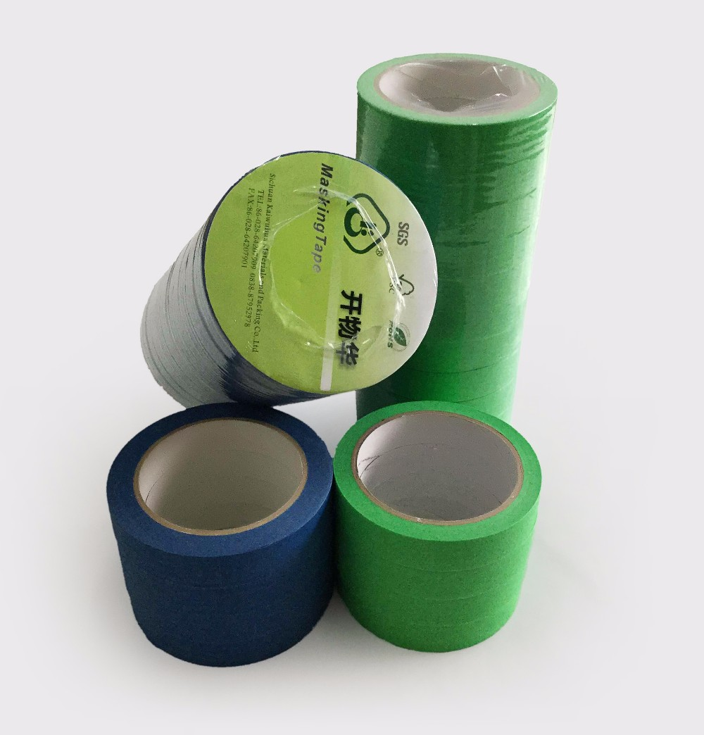 Iso90001 certified adhesive tape colored masking tape for for Decoration masking tape