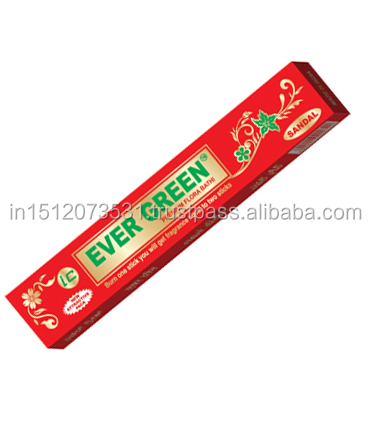 Evergreen Aromatic Incense Sticks in Sandal Fragrance