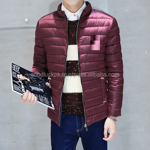 wholesale quilted jackets - New Quilted Lamb Leather Jacket for Men