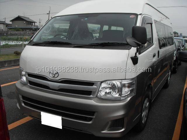 USED VAN - TOYOTA HIACE COMMUTER SUPER LONG DX (RHD 8090249)